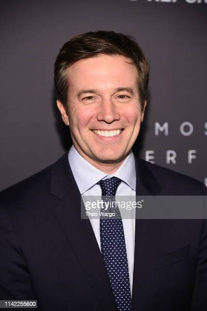 Jeff Glor attends the The Hollywood Reporter's 9th Annual Most Powerful People In Media at The Pool on April 11 2019 in New York City