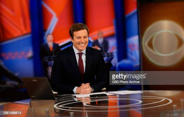 Jeff Glor during EVENING NEWS coverage of Midterm Election 2018