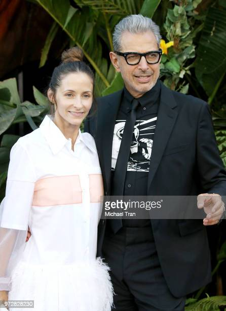 Jeff Goldblum and Emilie Livingston arrive to the Los Angeles premiere of Universal Pictures and Amblin Entertainment's Jurassic World Fallen Kingdom...