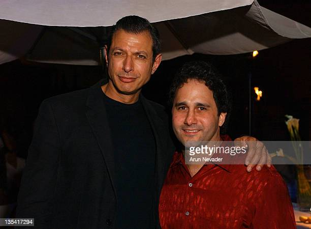 Jeff Goldblum and George Maloof Jr during CineVegas Film Festival 2003 Opening Night Gala at the Skin Pool Lounge Sponsored by Sunlion Films at Skin...