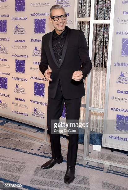 Jeff Goldblum arrives at the Art Directors Guild 23rd Annual Excellence In Production Design Awards at InterContinental Los Angeles Downtown on...