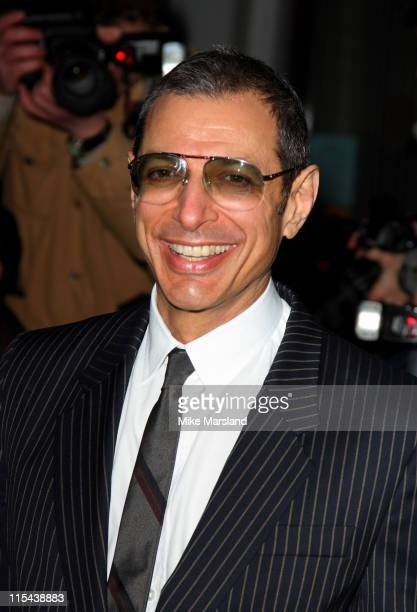 Jeff Goldblum arrives for the Laurence Olivier Awards 2008 at Grosvenor House on March 9 2008 in London England