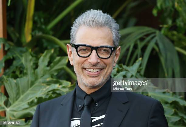 Jeff Goldblum arrives to the Los Angeles premiere of Universal Pictures and Amblin Entertainment's 'Jurassic World Fallen Kingdom' held at Walt...
