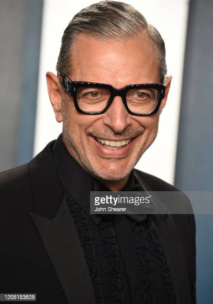 Jeff Goldblum attends the 2020 Vanity Fair Oscar Party hosted by Radhika Jones at Wallis Annenberg Center for the Performing Arts on February 09,...