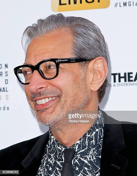 Jeff Goldblum attends the 3rd annual Location Managers Guild International Awards at The Alex Theatre on April 23 2016 in Glendale California