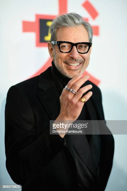 "Jeff Goldblum attends the ""Isle Of Dogs"" New York Screening at The Metropolitan Museum of Art on March 20, 2018 in New York City."
