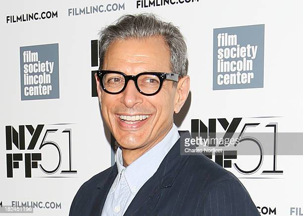 Jeff Goldblum attends the Le WeekEnd premiere during the 51st New York Film Festival at Alice Tully Hall Lincoln Center on September 29 2013 in New...