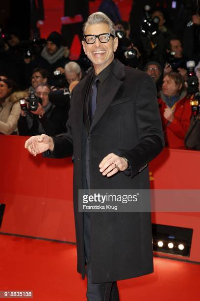 Jeff Goldblum attends the Opening Ceremony 'Isle of Dogs' premiere during the 68th Berlinale International Film Festival Berlin at Berlinale Palace...