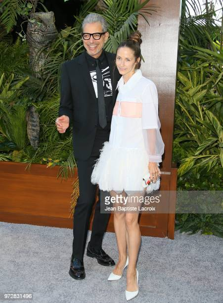 Jeff Goldblum attends the premiere of Universal Pictures and Amblin Entertainment's 'Jurassic World Fallen Kingdom' on June 12 2018 in Los Angeles...