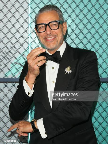 Jeff Goldblum attends the Tiffany & Co. Celebrates Launch of New Tiffany Men's Collections at the Hollywood Athletic Club on October 11, 2019 in Los...