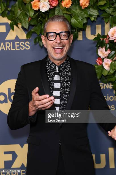 Jeff Goldblum attends Walt Disney Television Emmy Party on September 22, 2019 in Los Angeles, California.