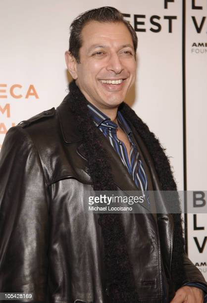 Jeff Goldblum during 4th Annual Tribeca Film Festival Special Thanks To Roy London World Premiere at Regal Battery Park in New York City New York...