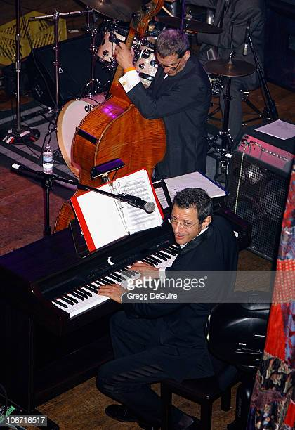 Jeff Goldblum during Academy Awards Celebration Dinner By Children Uniting Nations The Creative Coalition and Rock The Vote at The House of Blues in...