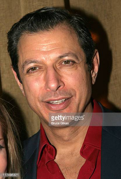 Jeff Goldblum during Opening Night of Martin McDonagh's 'The Pillowman' on Broadway Curtain Call and After Party at Osteria Stella in New York City...