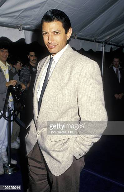 Jeff Goldblum during Premiere of Cry Freedom at Cineplex Odeon in Los Angeles California United States