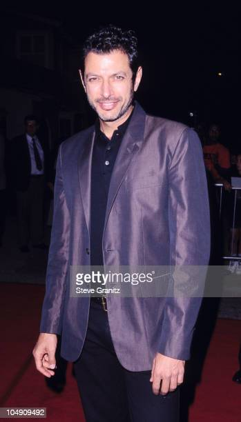 Jeff Goldblum during 'Swingers' Los Angeles Premiere at Vista Theater in Los Angeles California United States