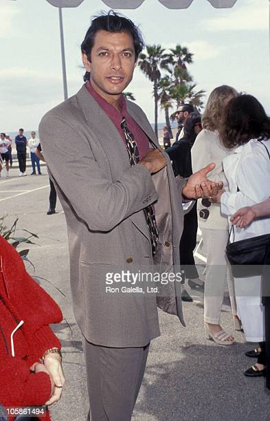Jeff Goldblum during The 8th Annual IFP/West Independent Spirit Awards at Santa Monica Beach in Santa Monica California United States