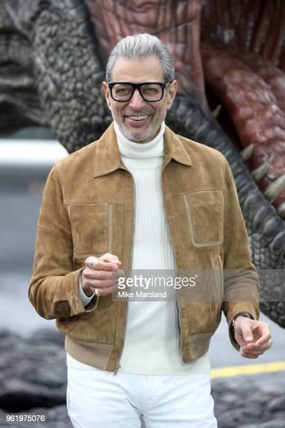 Jeff Goldblum during the 'Jurassic World Fallen Kingdom' photocall at London Bridge on May 24 2018 in London England