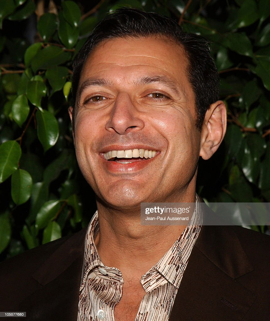 Jeff Goldblum during 'The Life Aquatic with Steve Zissou' Los Angeles Screening at Harmony Gold Theater in Hollywood, California, United States.