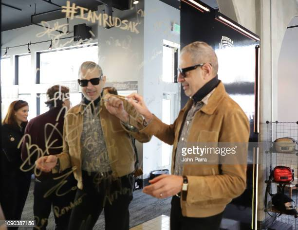 Jeff Goldblum from The Mountain attends The Hollywood Reporter 2019 Sundance Studio At Sky Strada Park City on January 27 2019 in Park City Utah