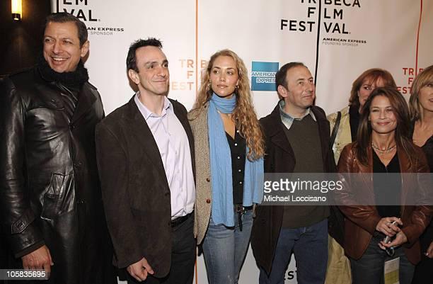 Jeff Goldblum Hank Azaria Elizabeth Berkley and Julie Warner Producer