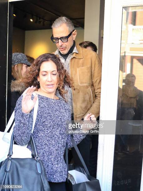 Jeff Goldblum is seen on January 27 2019 in Park City Utah