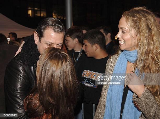 Jeff Goldblum Julie Warner Producer and Elizabeth Berkley