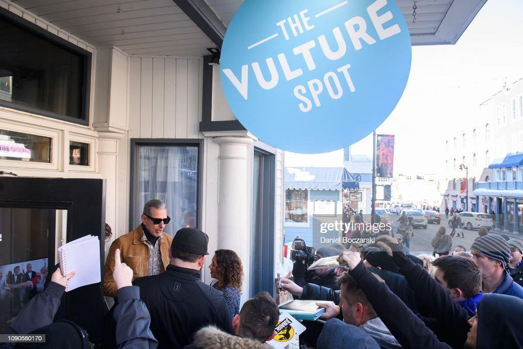 The Vulture Spot At Sundance - DAY 3 : News Photo