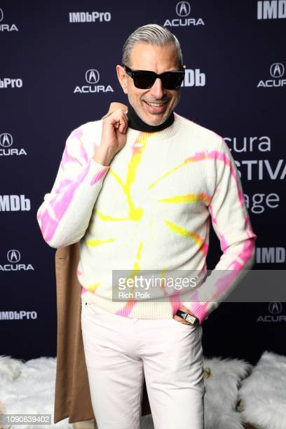 Jeff Goldblum of 'The Mountain' attends The IMDb Studio at Acura Festival Village on location at The 2019 Sundance Film Festival Day 4 on January 28...