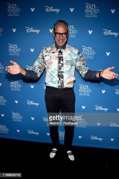 Jeff Goldblum of 'The World According To Jeff Goldblum' took part today in the Disney+ Showcase at Disney's D23 EXPO 2019 in Anaheim, Calif. 'The...