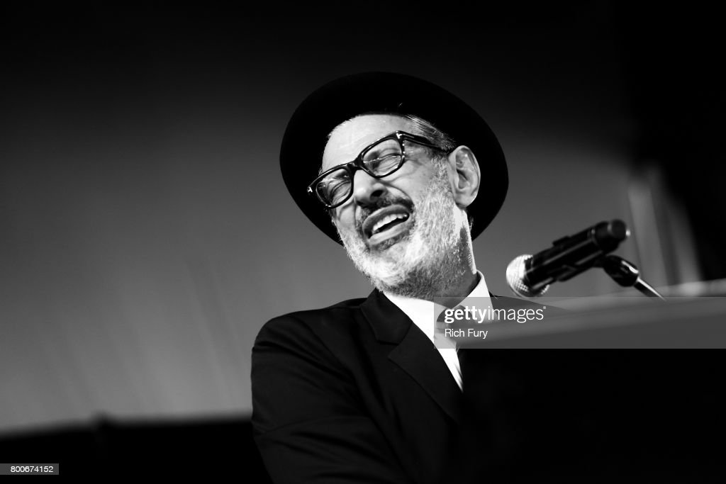 Jeff Goldblum performs on the Willow stage during Arroyo Seco Weekend at the Brookside Golf Course at on June 24, 2017 in Pasadena, California.