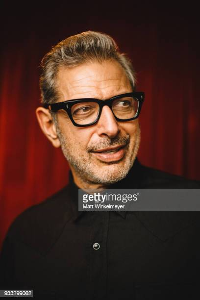 Jeff Goldblum poses for a portrait during the Isle of Dogs Premiere 2018 SXSW Conference and Festivals at Paramount Theatre on March 17 2018 in...