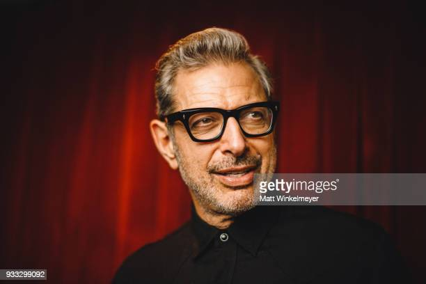 Jeff Goldblum poses for a portrait during the 'Isle of Dogs' Premiere 2018 SXSW Conference and Festivals at Paramount Theatre on March 17 2018 in...