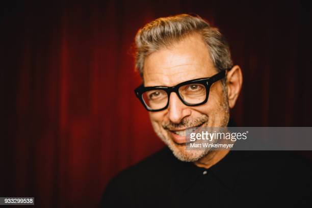 "Jeff Goldblum poses for a portrait during the ""Isle of Dogs"" Premiere - 2018 SXSW Conference and Festivals at Paramount Theatre on March 17, 2018 in..."