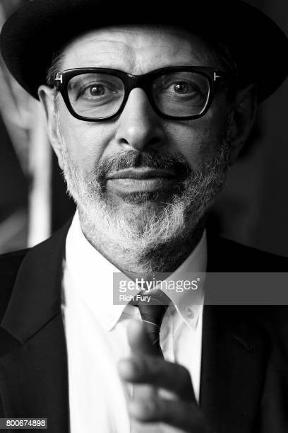 Jeff Goldblum poses for a potrait at Arroyo Seco Weekend at the Brookside Golf Course at on June 24, 2017 in Pasadena, California.