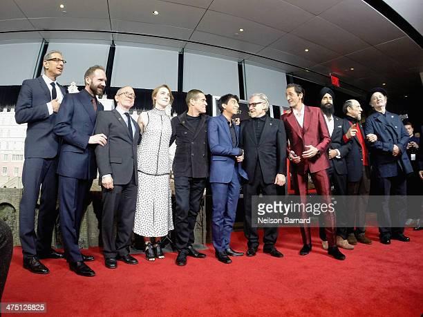 Jeff Goldblum Ralph Fiennes Bob Balaban Saoirse Ronan Willem Dafoe Tony Revolori Harvey Keitel Adrien Brody Waris Ahluwalia F Murray Abraham and Bill...