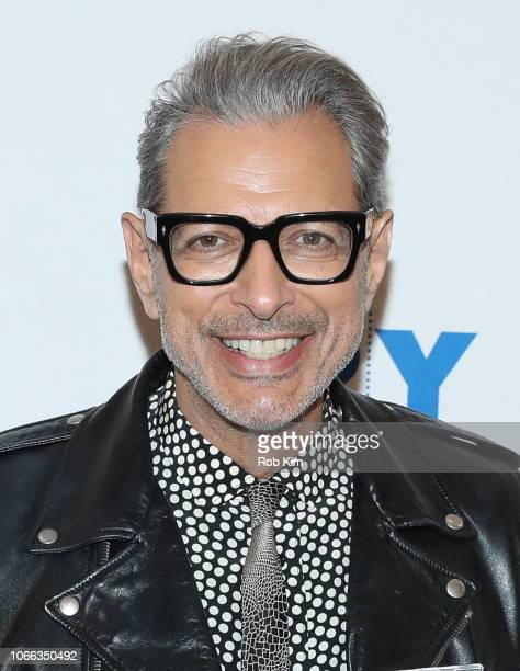 Jeff Goldblum visits at 92Y on November 11, 2018 in New York City.