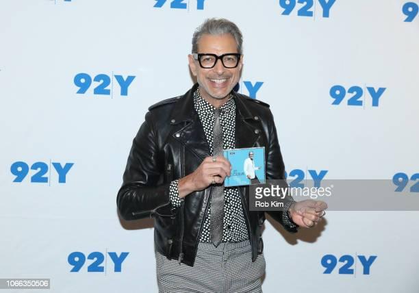 Jeff Goldblum visits at 92Y on November 11 2018 in New York City