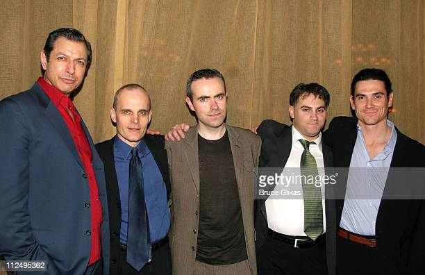 Jeff Goldblum Zeljko Ivanek John Crowley director Michael Stuhlbarg and Billy Crudup