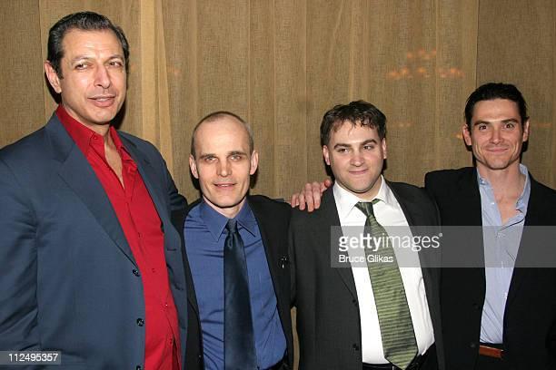 Jeff Goldblum Zeljko Ivanek Michael Stuhlbarg and Billy Crudup