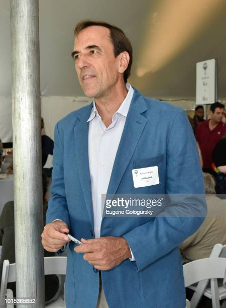 Jeff Goodell attends Authors Night At East Hampton Library on August 11 2018 in East Hampton New York