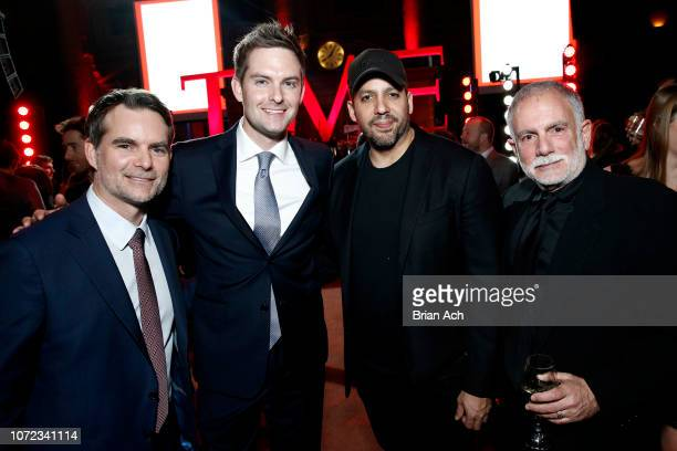 Jeff Gordon and David Blaine and guest attend the TIME Person Of The Year Celebration at Capitale on December 12 2018 in New York City