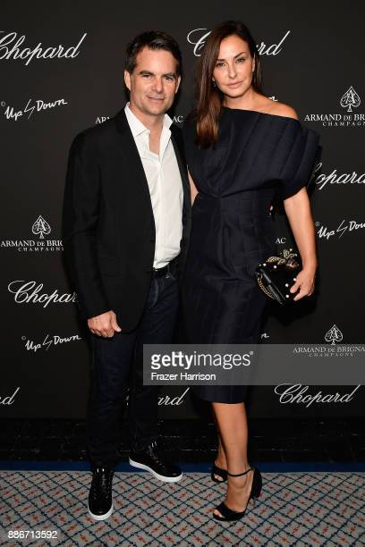 Jeff Gordon and Ingrid Vandebosch attend Creatures Of The Night LateNight Soiree Hosted By Chopard And Champagne Armand De Brignac at The Setai Miami...