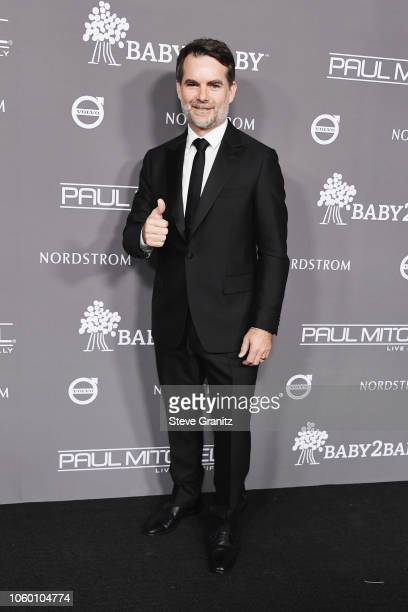 Jeff Gordon attends the 2018 Baby2Baby Gala Presented by Paul Mitchell at 3LABS on November 10, 2018 in Culver City, California.