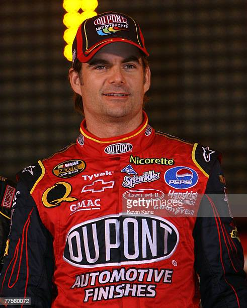 Jeff Gordon prior to the Bud Shootout at Daytona International SpeedwayDaytona Beach Florida February 10 2007