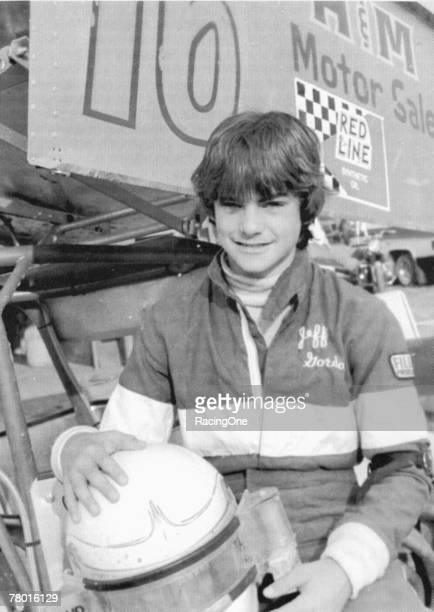 Jeff Gordon raced sprint cars on dirt when he was a mere 13 years old