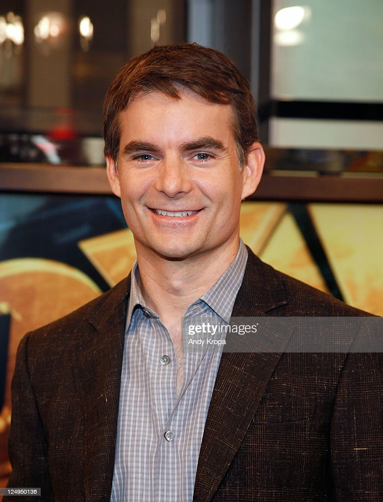 Jeff Gordon Visits FOX Business