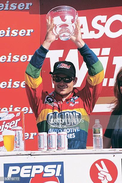 Jeff Gordon won The Bud at the Glen at Watkins Glen International his third consecutive road course victory and third consecutive win this season