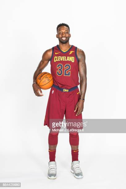 Jeff Green of the Cleveland Cavaliers poses for a portrait during the 201718 NBA Media Day on September 25 2017 at Quicken Loans Arena in Cleveland...