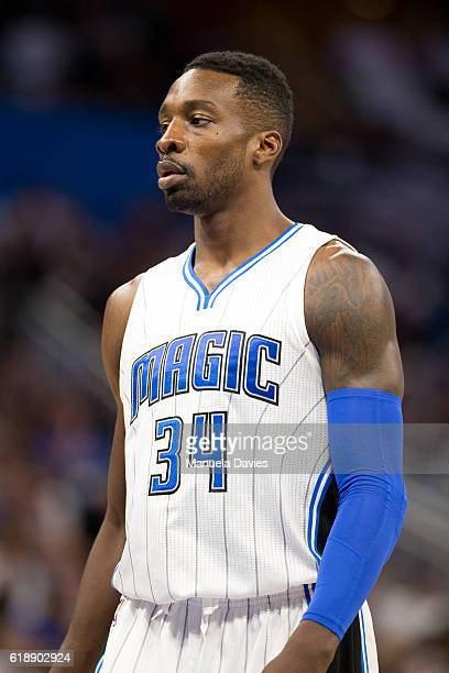 Jeff Green of the Orlando Magic on opening night against the Miami Heat on October 26 2016 at Amway Center in Orlando Florida NOTE TO USER User...
